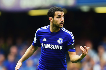 Cesc Fabregas Chelsea v Swansea City - Premier League