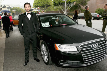 Chace Crawford Arrivals at the Elton John AIDS Foundation Oscars Viewing Party