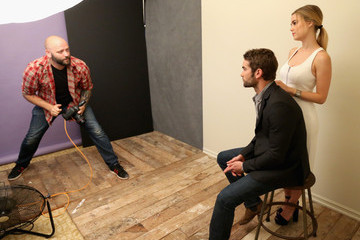 Chace Crawford Behind The Scenes Of The Getty Images Portrait Studio Powered By Samsung Galaxy At 2015 Summer TCA's