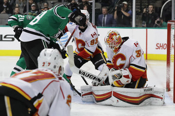 Chad Johnson Calgary Flames v Dallas Stars