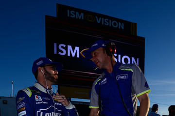 Chad Knaus Phoenix International Raceway - Day 1