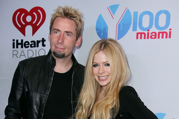 Chad Kroeger Press Room at the Jingle Ball in Miami