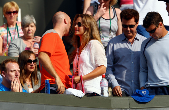 andy murray wimbledon 2009. Kim Sears, girlfriend of Andy