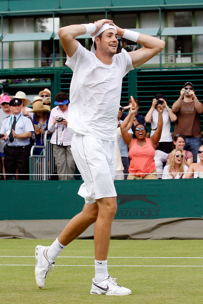 John+Isner in The Championships - Wimbledon 2010: Day Four