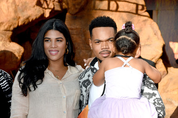 """Chance the Rapper Kirsten Corley Premiere Of Disney's """"The Lion King"""" - Red Carpet"""
