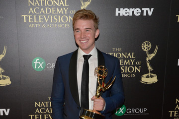 Chandler Massey Press Room at the Daytime Emmy Awards