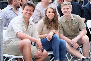 Chandler Powell Steve Irwin Honored Posthumously With Star On The Hollywood Walk Of Fame