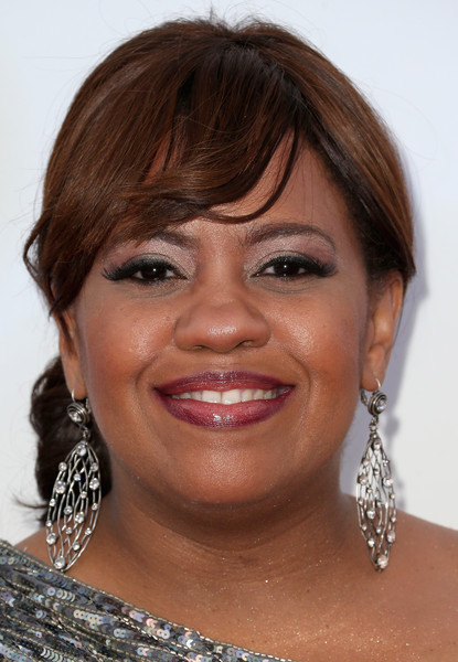 Chandra Wilson Actress Chandra Wilson attends the 46th NAACP Image ... Bradley Cooper