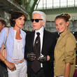 Karl Lagerfeld and Ines de la Fressange Photos