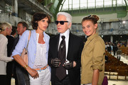 Karl Lagerfeld and Ines de la Fressange Photos Photo