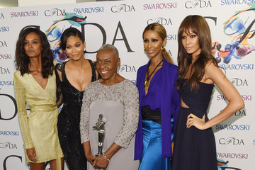 Chanel Iman CFDA Fashion Awards' Winners Walk