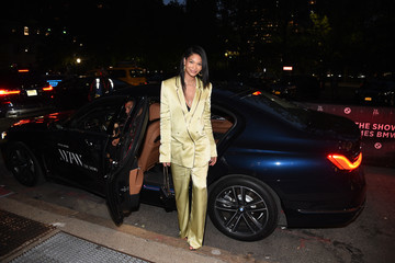 Chanel Iman BMW At NYFW: The Shows