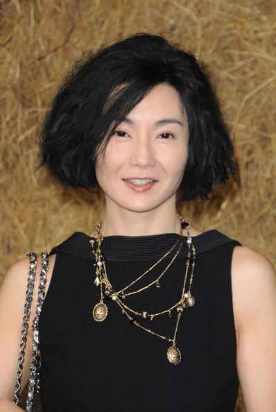 maggie cheung maggie cheung arrives to attend the chanel pret a porter ...