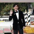 Chang Chen Celebrity Sightings - Day 3 - The 78th Venice International Film Festival