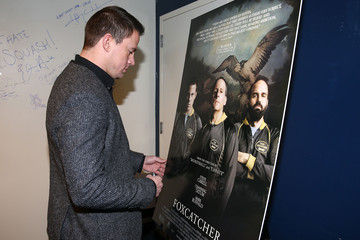 Channing Tatum 'Foxcatcher' Screening in Hollywood