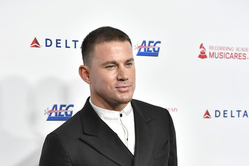Channing Tatum MusiCares Person Of The Year Honoring Aerosmith - Arrivals