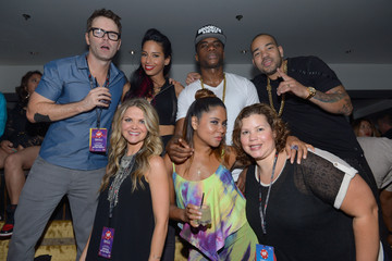 Charlamagne Tha God Bobby Bones 2014 iHeartRadio Music Festival - After Party