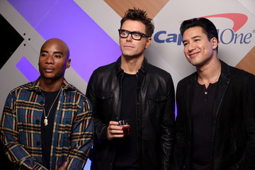 Charlamagne Tha God Bobby Bones 2019 iHeartRadio Podcast Awards Presented By Capital One – Backstage