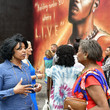 Charlene Thomas Mayor Of Yonkers Unveils Official Mural Of DMX