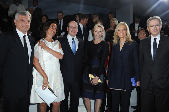 Celebs at the Dior Cruise Collection