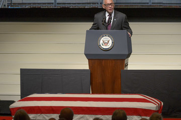 Charles Bolden A Memorial Service Is Held for John Glenn in His Home State of Ohio