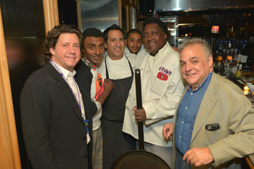 Charles Gabriel Moet & Chandon Champagne And Hennessy Present Harlem Shake Dinner Hosted By Marcus Samuelsson With Charles Gabriel, JJ Johnson And Christopher Lee - Part of The New York Times Dinner Series - 2015 Food Network & Cooking Channel South Beach Wine & Food