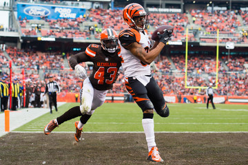 Charles Gaines Cincinnati Bengals v Cleveland Browns
