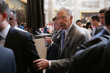 Charles Grassley Revised Health Care Bill Released by GOP Senators on Capitol Hill
