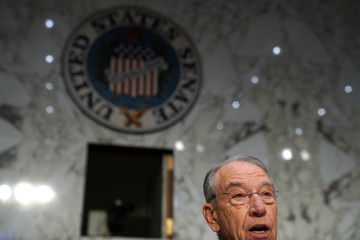 Charles Grassley AG Jeff Sessions Testifies Before The Senate Judiciary Committee