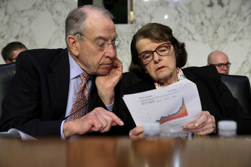 Charles Grassley Senate Holds Hearing On School Safety And Parkland School Shooting