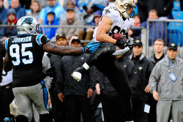 Charles Johnson New Orleans Saints v Carolina Panthers