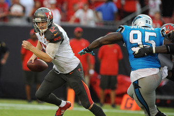 Charles Johnson Carolina Panthers v Tampa Bay Buccaneers