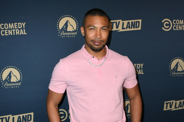 Charles Michael Davis L.A. Press Day For Comedy Central, Paramount Network, And TV Land