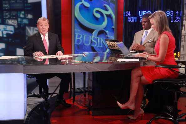 Behind The Scenes At FOX Business For The Stock Market Opening