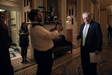 Charles Schumer Senate Votes on Confirmation of Jeff Sessions to Be Attorney General