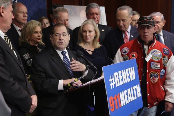 NY Democrats Hold News Conf. on Zagroda 9/11 Health and Compension Programs