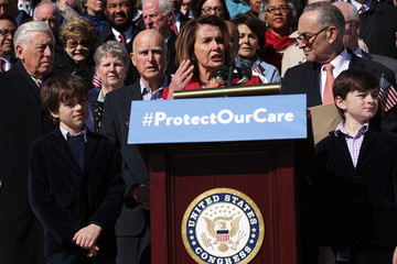 Charles Schumer Joe Biden Joins House Democrats at Event Marking 7-Year Anniversary of ACA