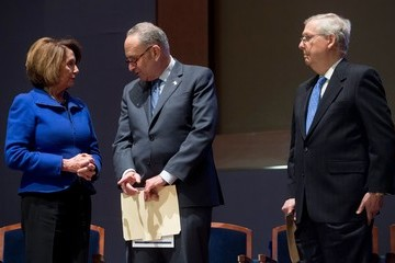 Charles Schumer U.S. Capitol Police Officers Honored After Congressional Baseball Shooting