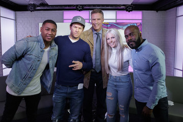 Charlie Hedges Will Ferrell and Mark Wahlberg Visit KISS FM