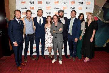 Charlie Hunnam Xenia Siamas 2019 Toronto International Film Festival - 'Jungleland' Photo Call