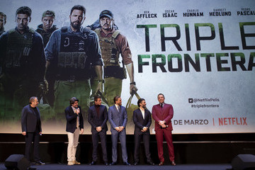 Charlie Hunnam 'Triple Frontier' European Special Screening In Madrid