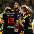Charlie Ngata Super Rugby Rd 14 - Hurricanes v Chiefs