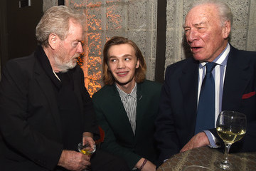 Charlie Plummer Premiere of Sony Pictures Entertainment's 'All the Money in the World' - After Party