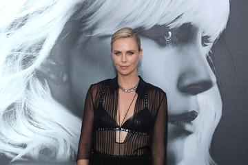 Charlize Theron Premiere Of Focus Features' 'Atomic Blonde' - Arrivals