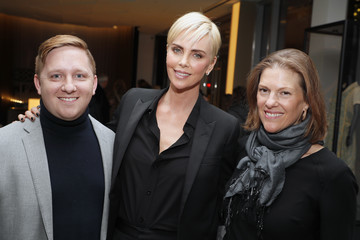 Charlize Theron Emily Lenzner 'Bombshell' Special Screening