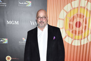 Andrew Zimmern attends the Africa Outreach Project Fundraiser hosted the Charlize Theron at The Africa Center on November 12, 2019 in New York City.