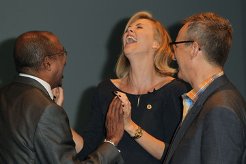 Charlize Theron UNAIDS Launches New Fast Track Report