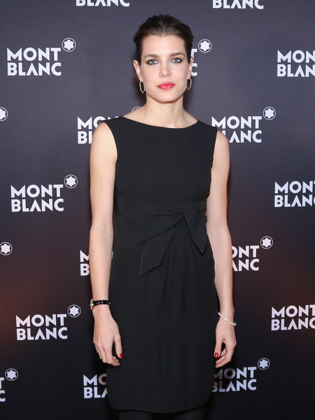 Charlotte Casiraghi In this handout image provided by Montblanc, Charlotte Casiraghi poses during a dinner at the President Wilson Hotel as Montblanc announced Charlotte Casiraghi as its new global brand ambassador during the Salon International de la Haute Horlogerie on January 19, 2015 in Geneva, Switzerland.
