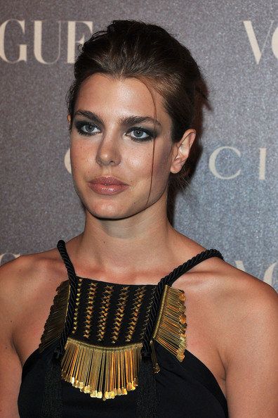 Charlotte Casiraghi Charlotte Casiraghi  attends the Vogue Paris Dinner hosted by Carine Roitfeld in honour of Frida Giannini as part of Paris Haute Couture Fashion Week at Hotel de la Rochefoucauld Doudeauville on January 25, 2011 in Paris, France.