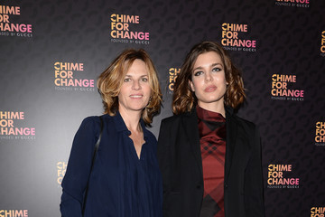 "Charlotte Casiraghi Royal Box Arrivals At ""Chime For Change: The Sound Of Change Live"" Concert"